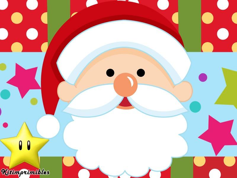 Kit Imprimible Fiesta Navidad - Decoraciones, Cajitas e Invitaciones ...